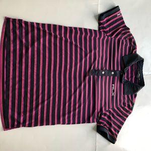 Polo RLX striped golf polo